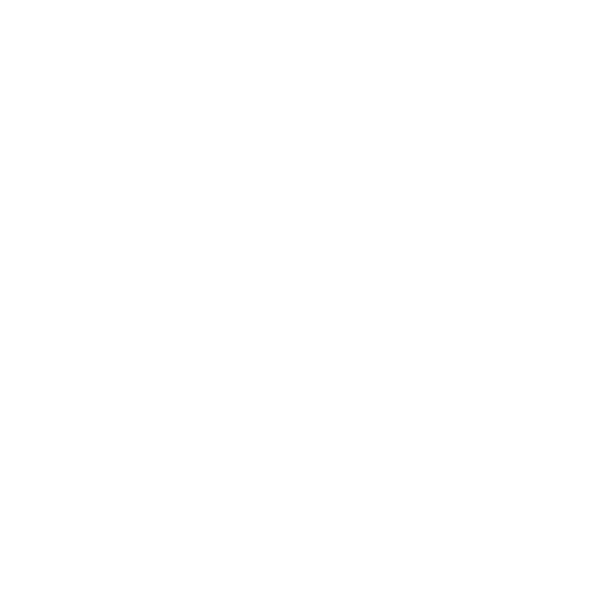Sfeerbeeld van een oog opgebouwd uit drie cirkel. Een smalle buitencirkel met daarbinnen een dichte witte cirkel met schuin boven een wit rondje wat de verbinding maakt tussen het gevulde witte rondje en de witte buitenrand.