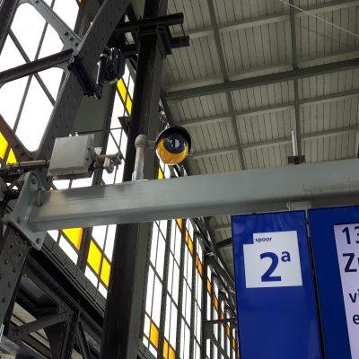 Spoorwegveiligheid met Adhetec observatiecamerasysteem
