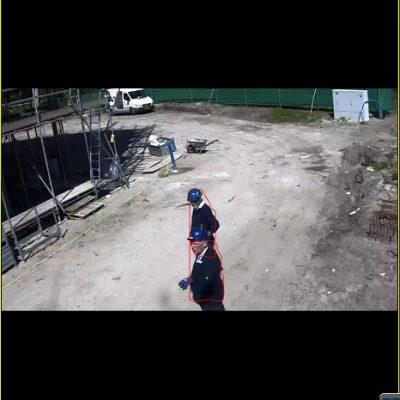 Motion detection met een camerabewakingssysteem van Adhetec.